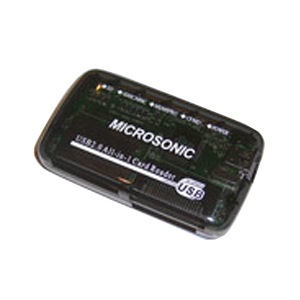 Microsonic Reader 57-in-1 CR03HC Чёрный (150/2400)