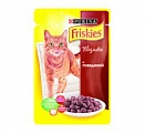 FRISKIES ADULT Cat КвП Говядина 100g