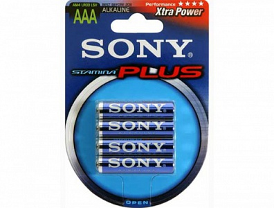 Sony LR03-4BL STAMINA PLUS [AM4B4A] (80/240/24000)
