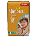 PAMPERS Подгузники Sleep & Play Junior (11-18 кг) Джайнт Упаковка 74