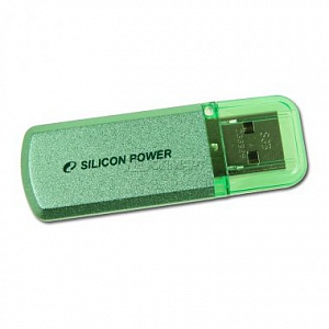 Флэш-диск Silicon Power 08 Gb Helios 101 Green (35)