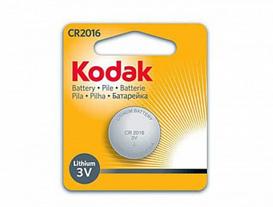 Kodak CR2016-1BL NEW (12/6552)
